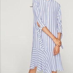 NWT Zara high low dress